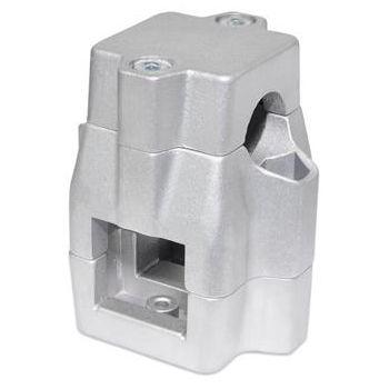 square tube connector / aluminum / center bracket