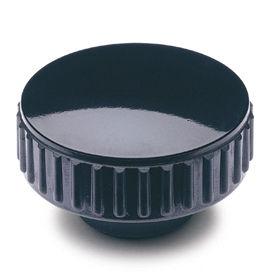 knurled nut / steel / plastic