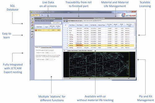 traceability software / tracking / production management / network