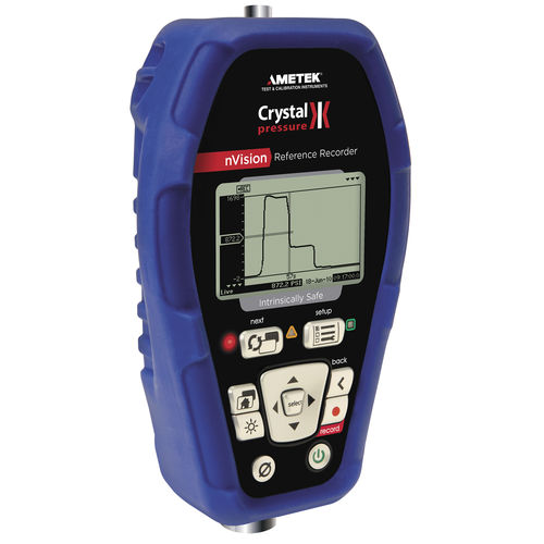temperature data-logger / pressure / with PC interface / with LCD display