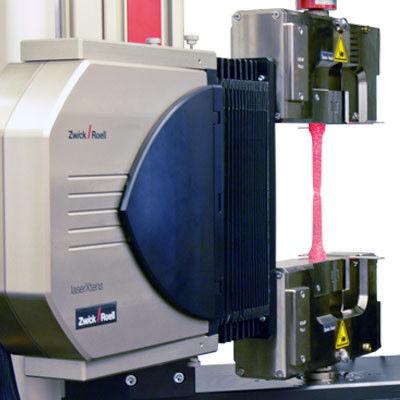 laser extensometer / transverse / high-resolution