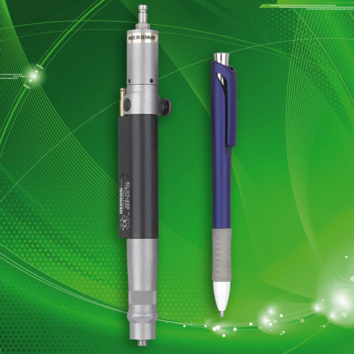 straight air screwdriver / with shut-off clutch / low-torque