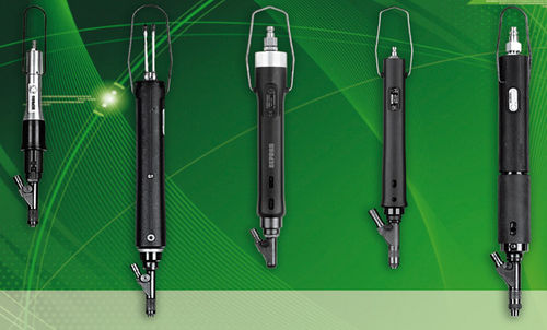 straight air screwdriver / with automatic feed