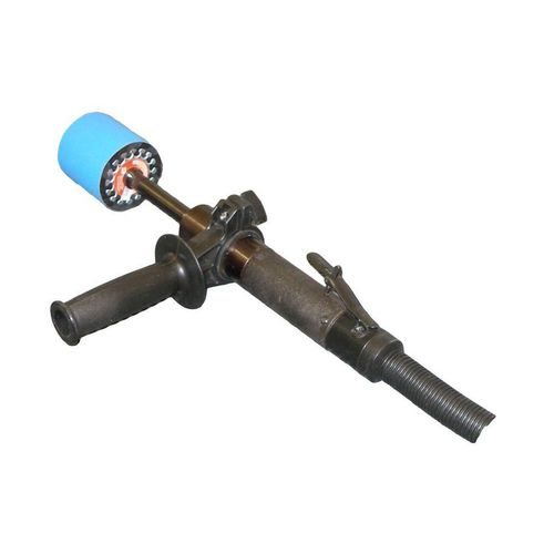 angle polisher / pneumatic / for all materials