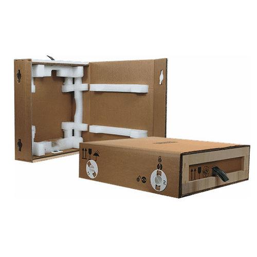 cardboard crate