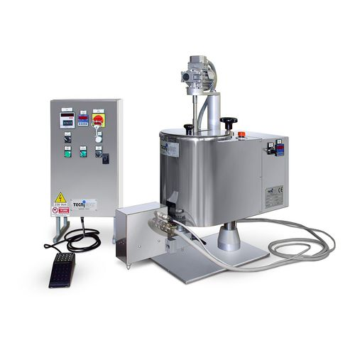 wax melter / for the cosmetics industry / stainless steel