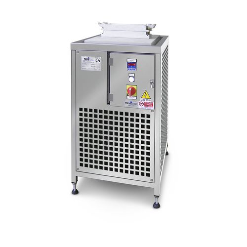 cooling plate for the cosmetics industry