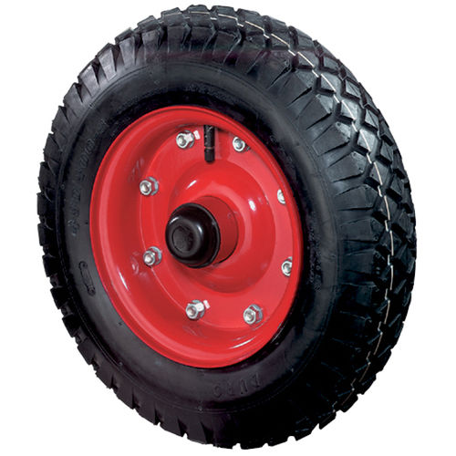 wheel with pneumatic tire