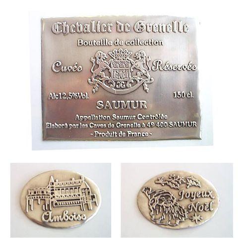 self-adhesive label