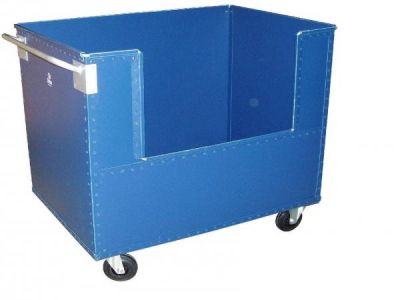 transport cart / plastic / multipurpose / with swivel casters
