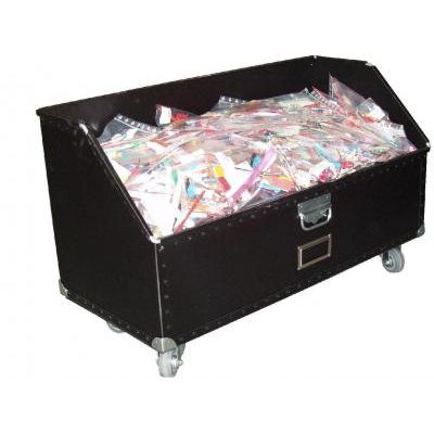 storage cart / plastic / multipurpose / with swivel casters