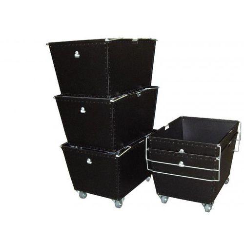 plastic cart / multipurpose / with swivel casters / interlocking