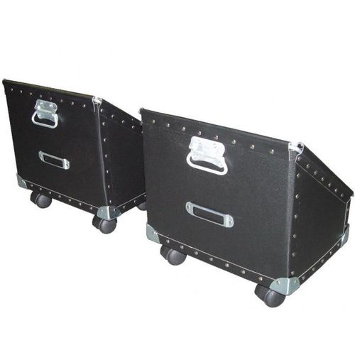 storage cart / metal / multipurpose / with swivel casters