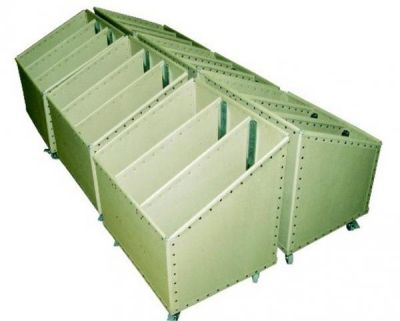 storage cart / multipurpose / with swivel casters