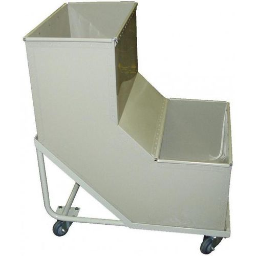 steel cart / multipurpose / with swivel casters / custom