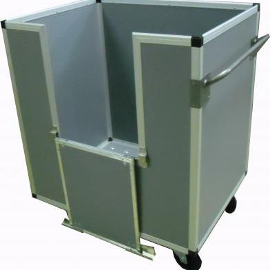 transport cart / multipurpose / with swivel casters