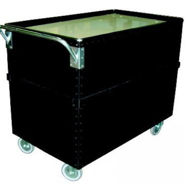 storage cart / platform / multipurpose / with swivel casters