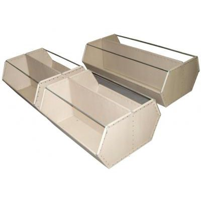 plastic picking bin / storage / stacking / custom