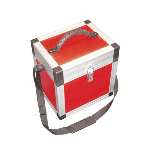 transport case / aluminum / for medical applications / with handle