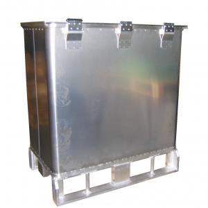aluminum crate / storage