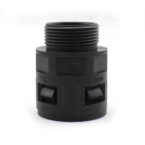 screw-in fitting / quick / straight / nylon