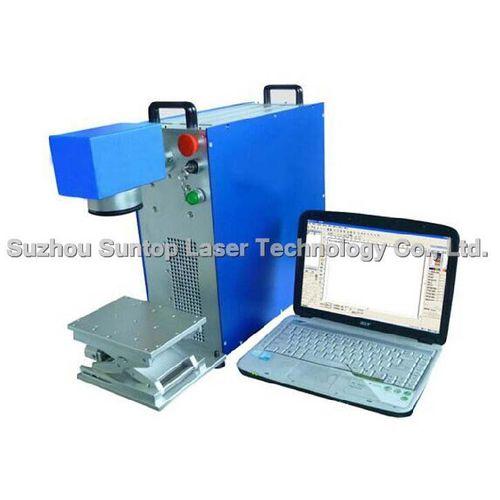 fiber laser marking machine / benchtop / compact / air-cooled