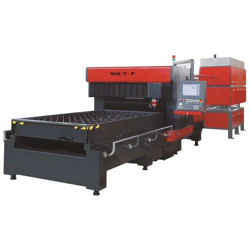 wood cutting machine / CO2 laser / panel / numerical control