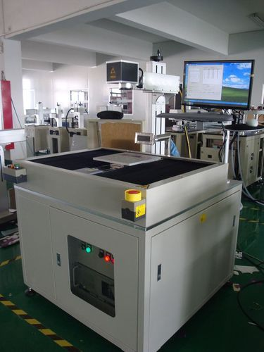 laser marking machine / automatic / for metal