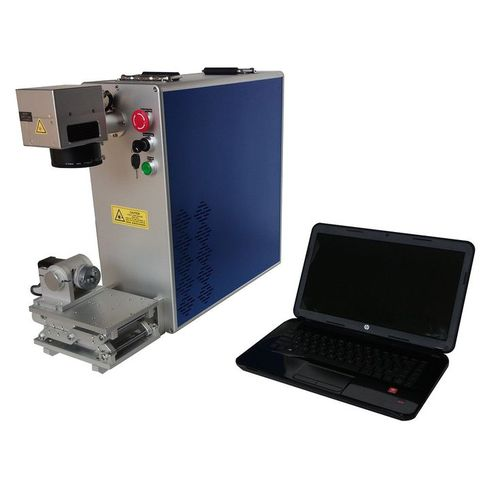 fiber laser engraving machine / deep / for metal / for aluminum