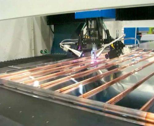 fiber laser welding machine / spot / automatic / three-phase