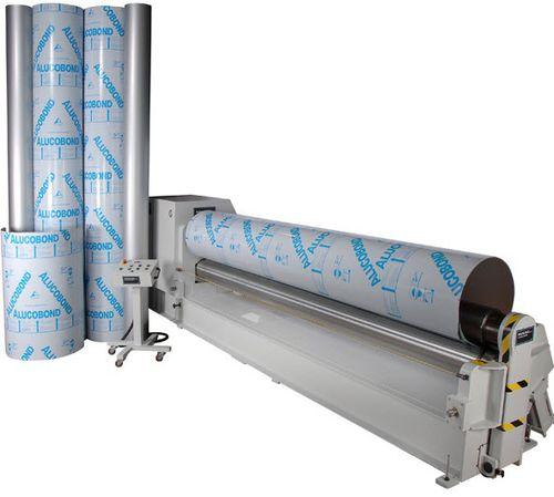 3-roll plate bending machine / 4-roll / hydraulic / automatic