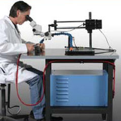 TIG welding system / manual / with digital microscope