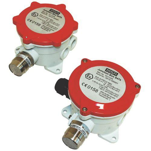 flammable gas detector / vapor / gas / catalytic