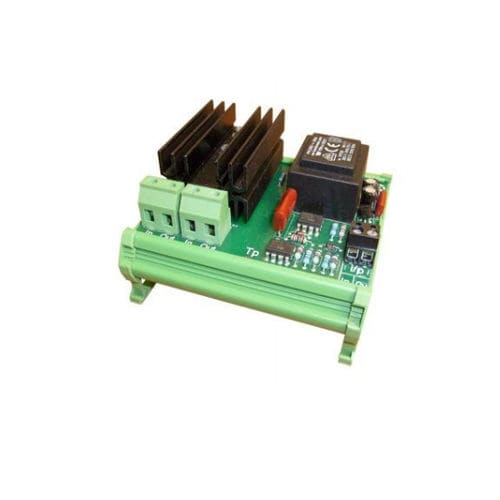 thyristor power controller / single-phase / DIN rail