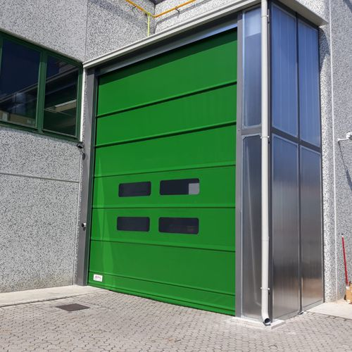 roll-up door