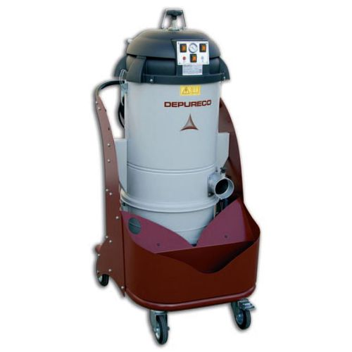 dry vacuum cleaner / single-phase / industrial / compact