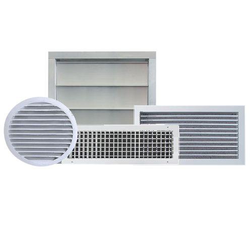 circular air diffuser / square / rectangular / ceiling
