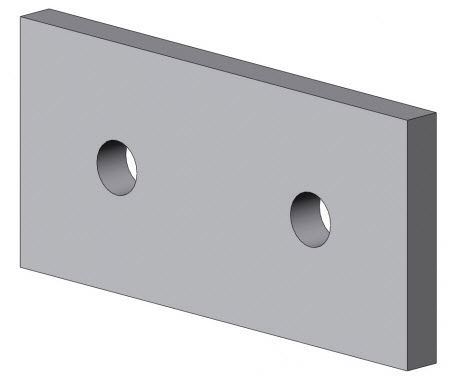 profile assembly mounting plate