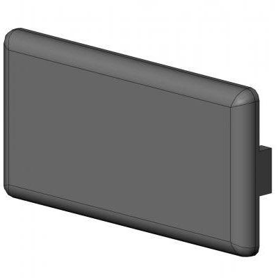 rectangular cap