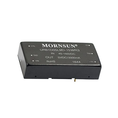 chassis-mounted DC/DC converter / DIP / DIN rail / regulated