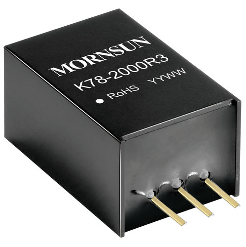 SIP DC/DC converter / non-isolated / regulated / industrial