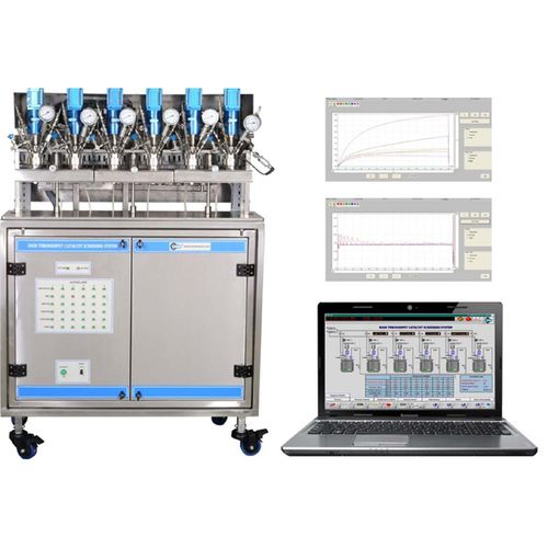 parallel reactor / high-pressure / for catalyst screening / laboratory