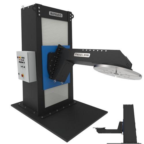 electro-hydraulic welding positioner