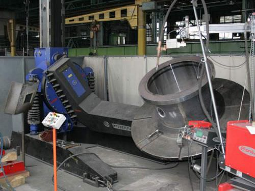 hydraulic welding positioner / rotary / 3-axis