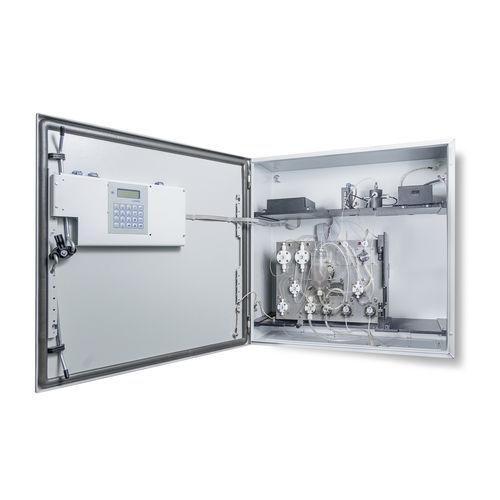 aluminum analyzer / concentration / for integration / automatic