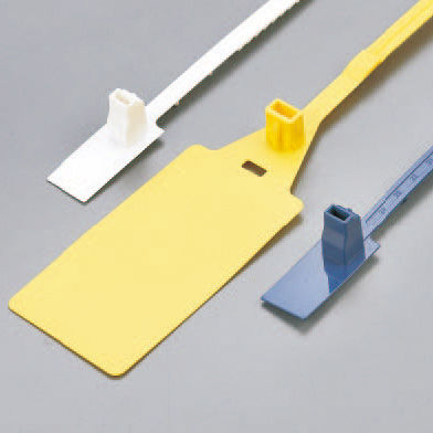 polypropylene cable tie / marker / flameproof / corrosion-proof