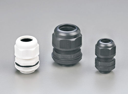 nylon cable gland / IP68 / threaded