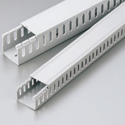 cabling trunking / PVC / grooved
