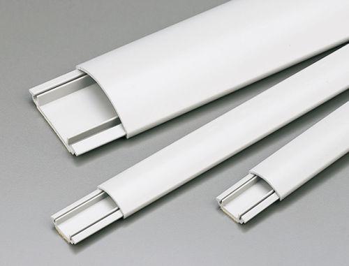 cabling trunking / PVC / rigid / self-extinguishing