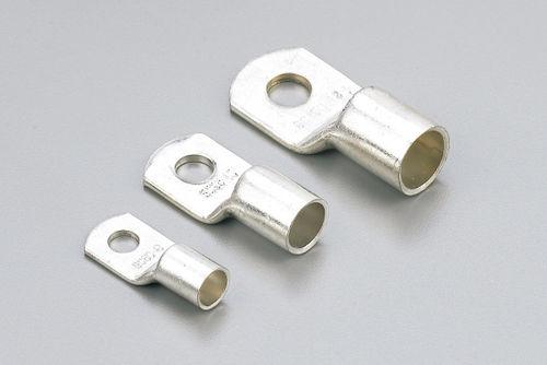 compression solderless terminal / tubular / non-insulated / copper